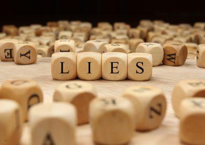 Lying is an Adaptive Behavior