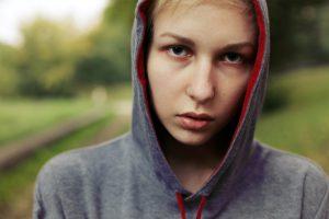 teen using drugs