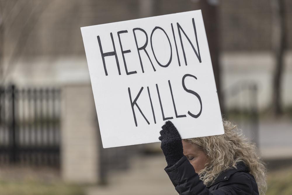 snorting heroin