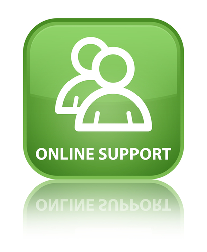 online treatment support
